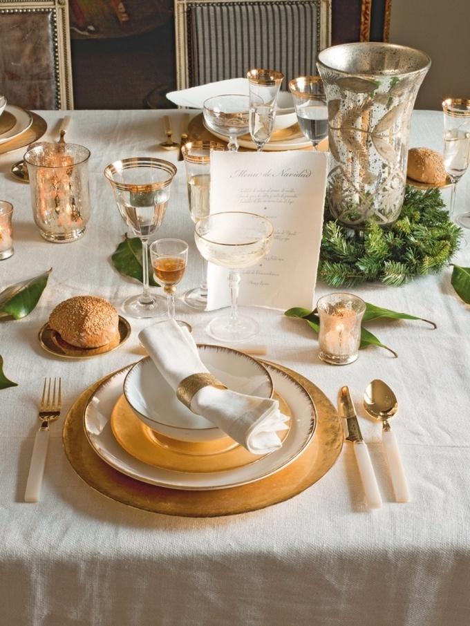 Сервировка новогоднего стола: ТОП-5 идей