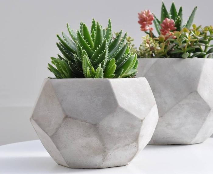 горшок бетон
