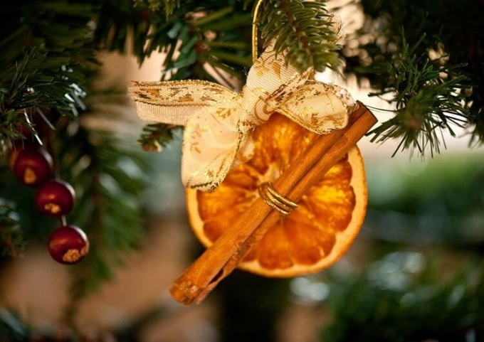 Чудеса из апельсина: делаем эко-украшения