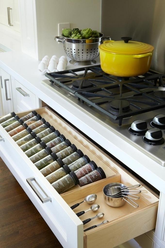 Как хранить специи на маленькой кухне