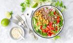 Полезный обед для худеющих - овощное рагу с киноа