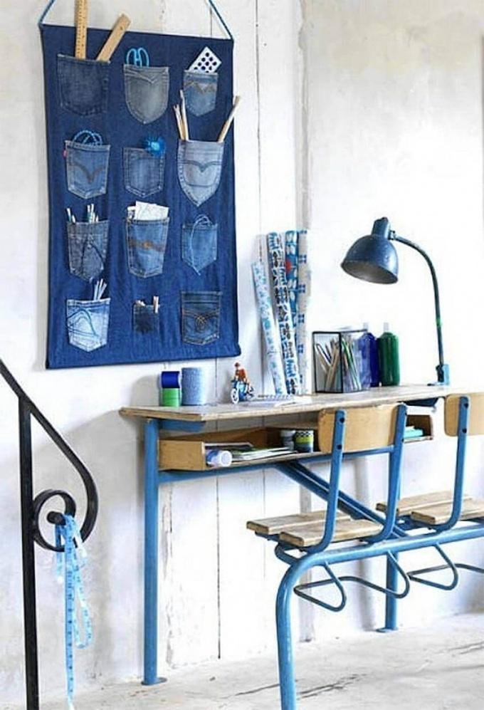 Дарим джинсам вторую жизнь:  шьем эксклюзив
