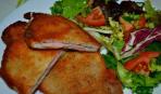«Бутерброд» из отбивных «Двойной удар»