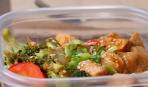 Курочка с овощами: лучшее блюдо для офисного обеда (видео)