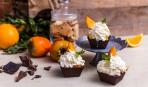 Десерт дня: шоколадные корзинки с фруктами без выпечки