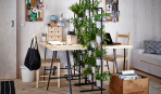 Подставки под комнатные цветы: 5 стильных идей