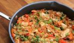 Блюдо дня: рис с мясом по-японски (видео)