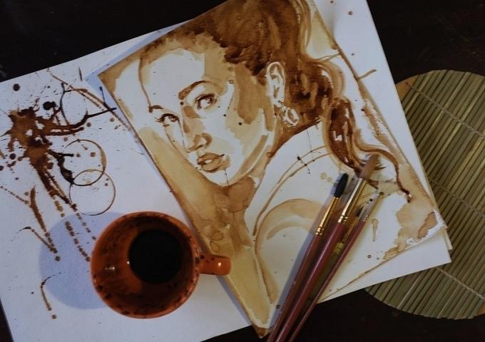 Как рисовать кофе: создаем эксклюзив
