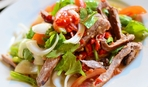 Мексиканский салат с мясом