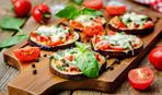 Сезонные диковинки: баклажанная «пицца»
