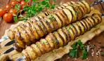 Картофель на шпажках «Торнадо»
