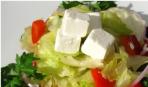 Салат «Дефолт в Греции»