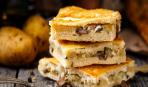Закусочный «Наполеон» с картофельно-грибной начинкой