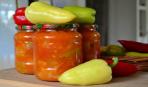 Перец в томатно-чесночной заливке «Гуляка»