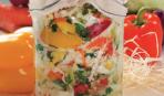 Слоеный салат с капустой «Карнавал»