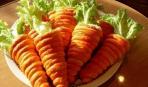 Салат в «морковках»
