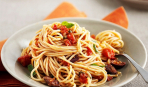 Спагетти с овощами «Летнее настроение»