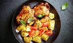 Ужин со сковородки «Курица и картофель»