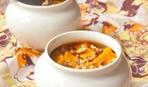 Ужин гурмана: сливочная тыква в горшочках с рисом и курагой