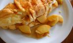 Готовим вместе с детьми: омлет из творога с карамельными яблоками