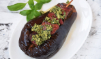 Шашлык в баклажане-«сундучке»: пошаговый рецепт