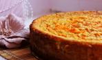 Пирог с мясо-тыквенной начинкой «Кукурузный»