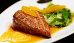 Мясо с апельсиновым соусом