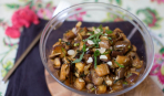 """""""Грибочки"""" из баклажанов: простой салатик на ленивую хозяйку"""