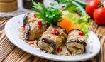 Баклажанові рулетики з горіхами та сиром: покроковий рецепт