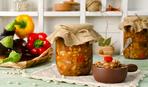 "Азербайджанская закуска из баклажанов и перца ""Йахшы адамлар"""