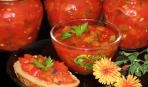 Салат из цуккини и перца в мультиварке