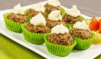 Правильное питание: рисовые кексы с мясом