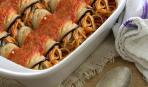Так вы их еще не готовили: спагетти в баклажанах «Моточки»