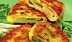 Шницели с сыром и зеленью
