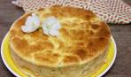 Капустный пирог на Троицу (готовится за полчаса)