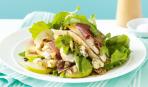 Салат с курицей и грушей «Нежный Париж»