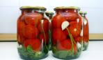 Рецепт консервированных помидоров
