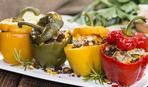 Овощные «чашечки» с творогом