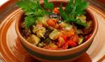 Мясо с овощами на обед