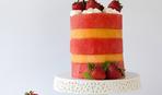 Такой возможен только летом: дынно-арбузный торт