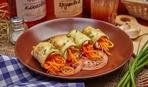 Рулетики из кабачков с морковью по-корейски: пошаговый рецепт