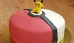 Торт с сюрпризом Покемон Покебол Пикачу