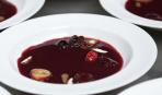 Сладкий суп «Пряная слива»