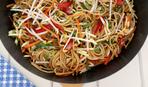 «Спагетти» из овощей за 2 минуты