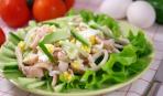 Праздничный салат из кальмаров «Кракен»