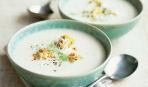 Вкуснейший молочный суп с гренками