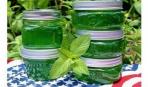 Дачные заготовки: варенье из мяты «На здоровье»
