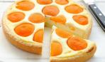 Творожный манник с абрикосами