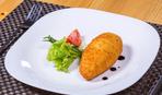 Рецепт из Японии: котлеты с сыром