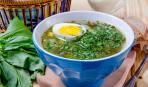 Новый рецепт зеленого борща